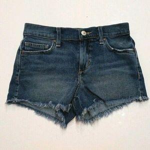 LIKE NEW JOE'S High-waisted denim shorts 24